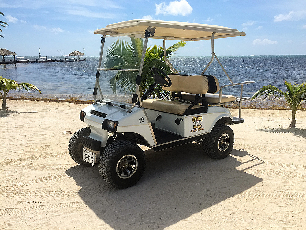 Get out Among the Locals - Captain Morgan's Retreat Golf Cart Relaxing on exciting golf, natural golf, lazy golf, peaceful golf, cute golf, captain kangaroo golf, playing golf,