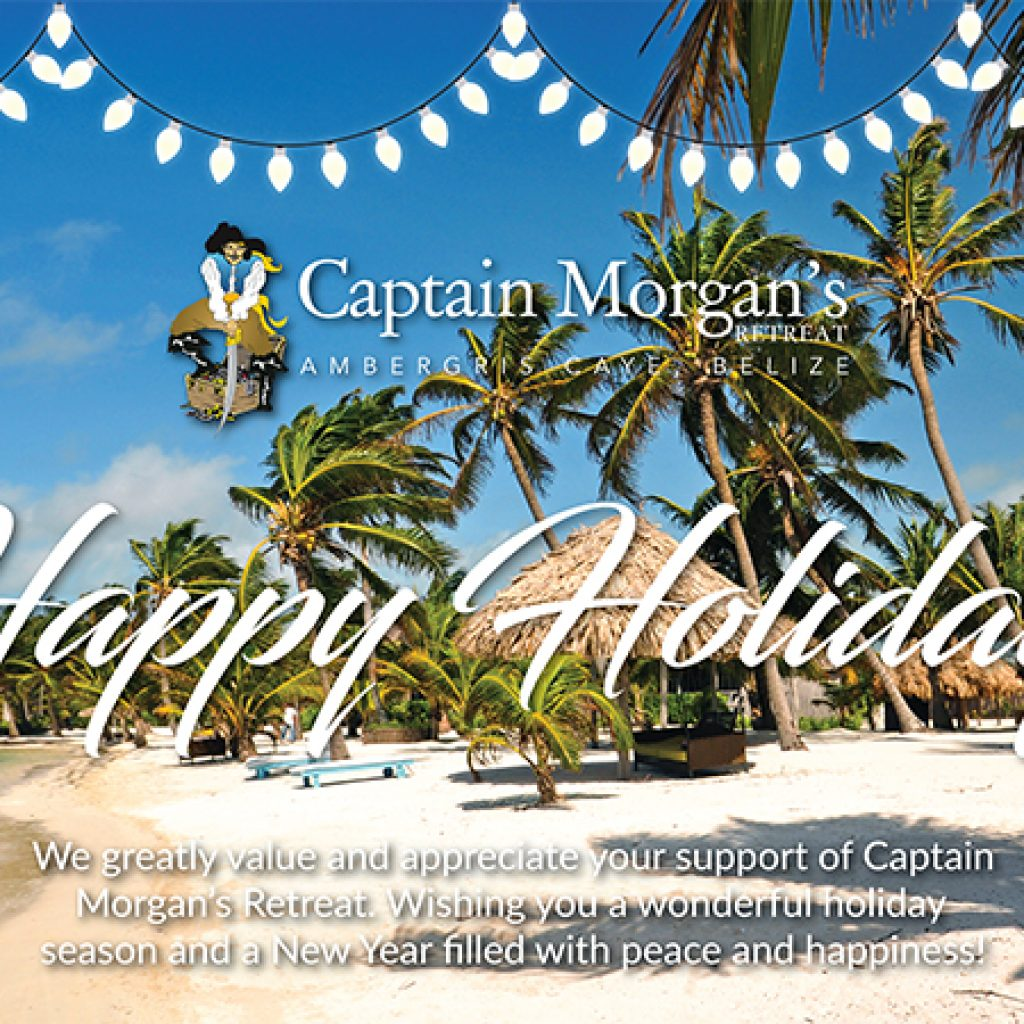 Happy Holidays from Captain Morgan's Retreat