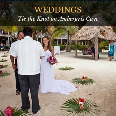 Weddings - Captain Morgan's Retreat. Belize
