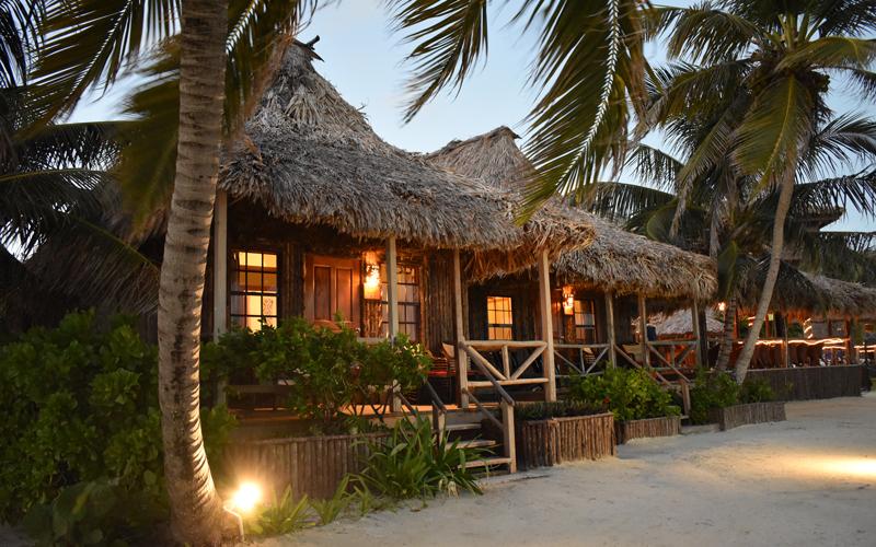 Cabana Night - Captain Morgan's Retreat. Belize