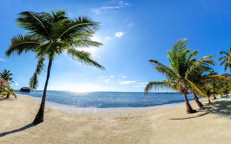 Beach - Captain Morgan's Retreat. Belize