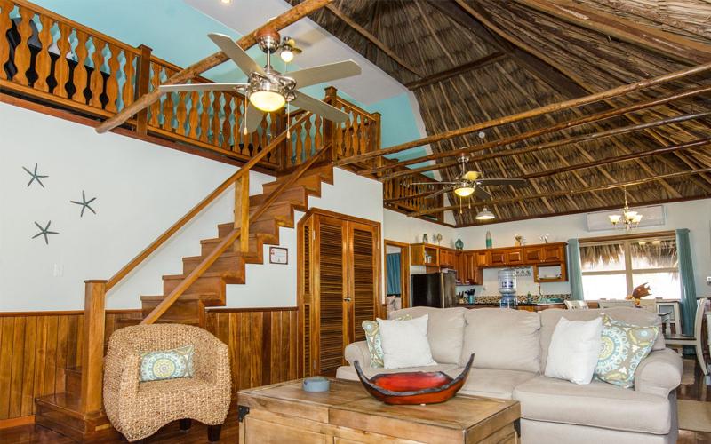 Living Room - Captain Morgan's Retreat. Belize