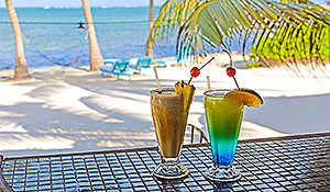 drinks - Captain Morgan's Retreat. Belize