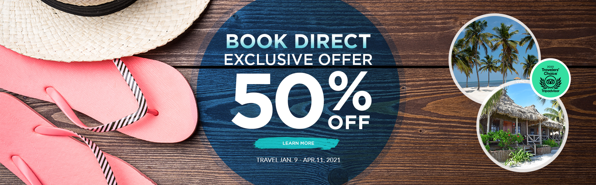 Book Direct - Captain Morgan's Retreat. Belize